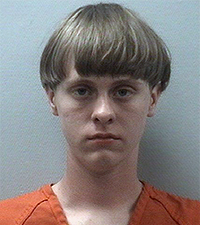 Dylann Roof (Courtesy: Charleston Police Dept.)