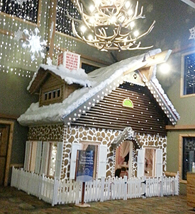 Gingerbread House at Great Wolf (P