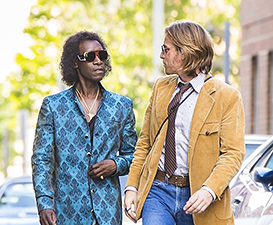 Don Cheadle and Ewan McGregor in a scene from Miles Ahead.