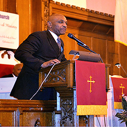Pastor Jay Broadnax, the newly installed President of Black Clergy of Philadelphia and Vicinity was also on hand for the Installation service.