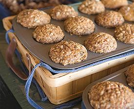 Irish Oatmeal Muffins