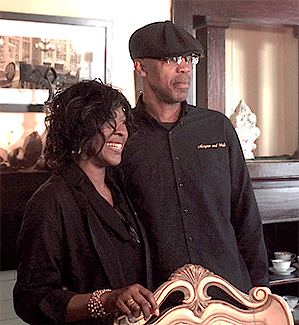 Melanie and Derrick Graham, owners of Morgan and Wells Bed and Breakfast.