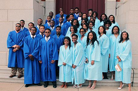 Gesu School's Class of 2016 at The Church of the Gesu in North Philadelphia