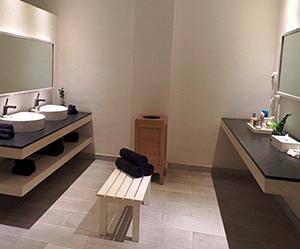 Beloved spa dressing room