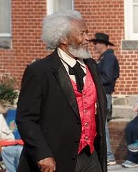 Frederick Douglass in parade