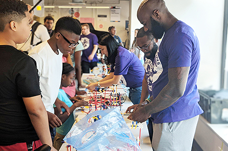 Full Steam Ahead The Malcolm Jenkins Foundation And Drexel University Partner To Offer Pioneering Summer Camp In West Philadelphia The Philadelphia Sunday Sun