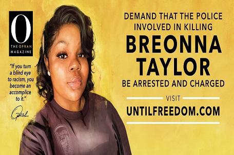 Oprah Buys 26 Billboards In Louisville Ky Demanding Justice For Breonna Taylor The Philadelphia Sunday Sun